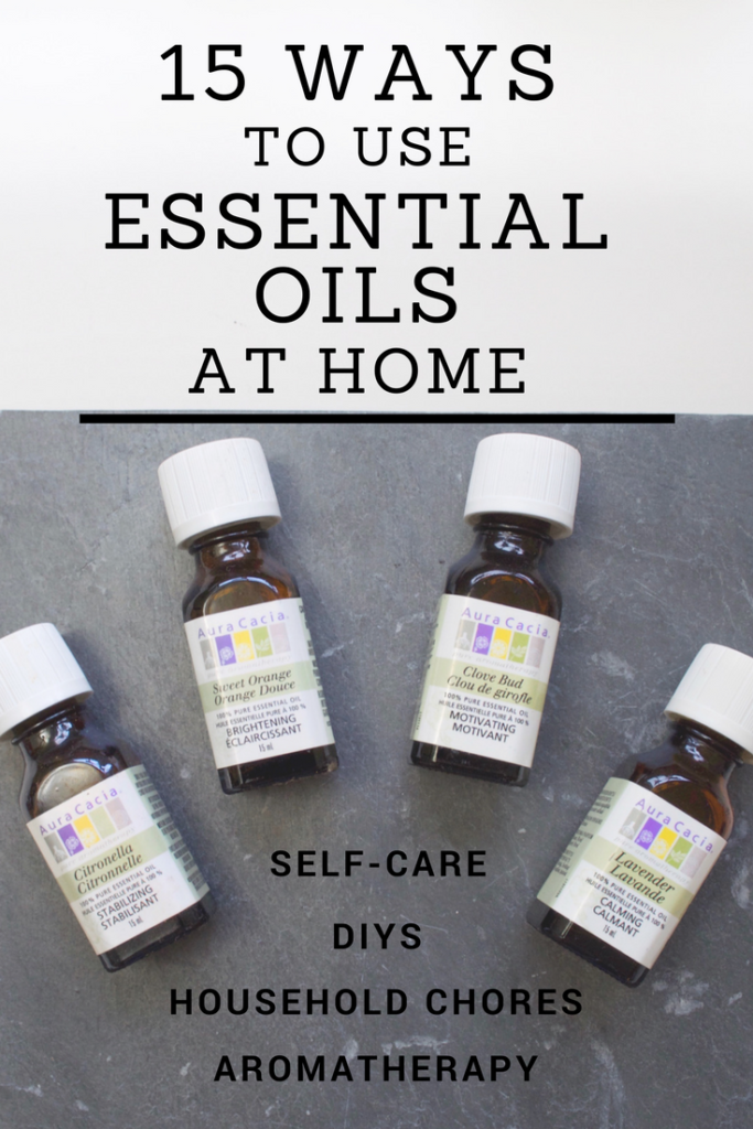 15 Ways to use Essential Oils at Home