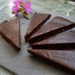 Dark Chocolate Tart (V + GF!)