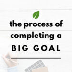 Completing a Big Goal