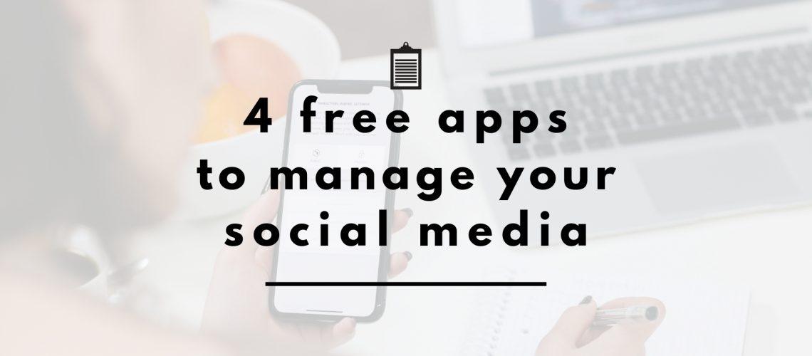 apps for social media header