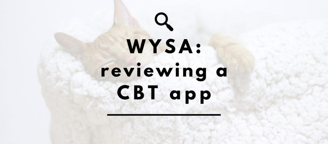 wysa review header