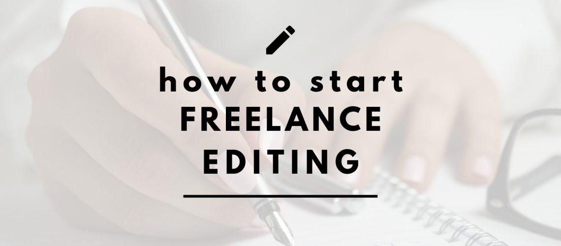 freelance editing header