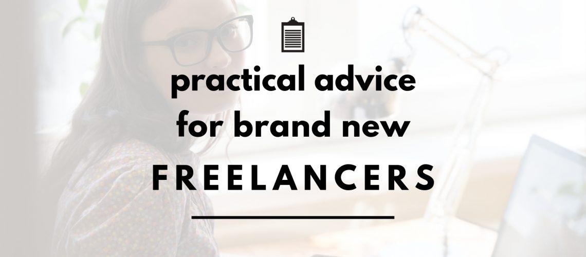 freelancer advice header
